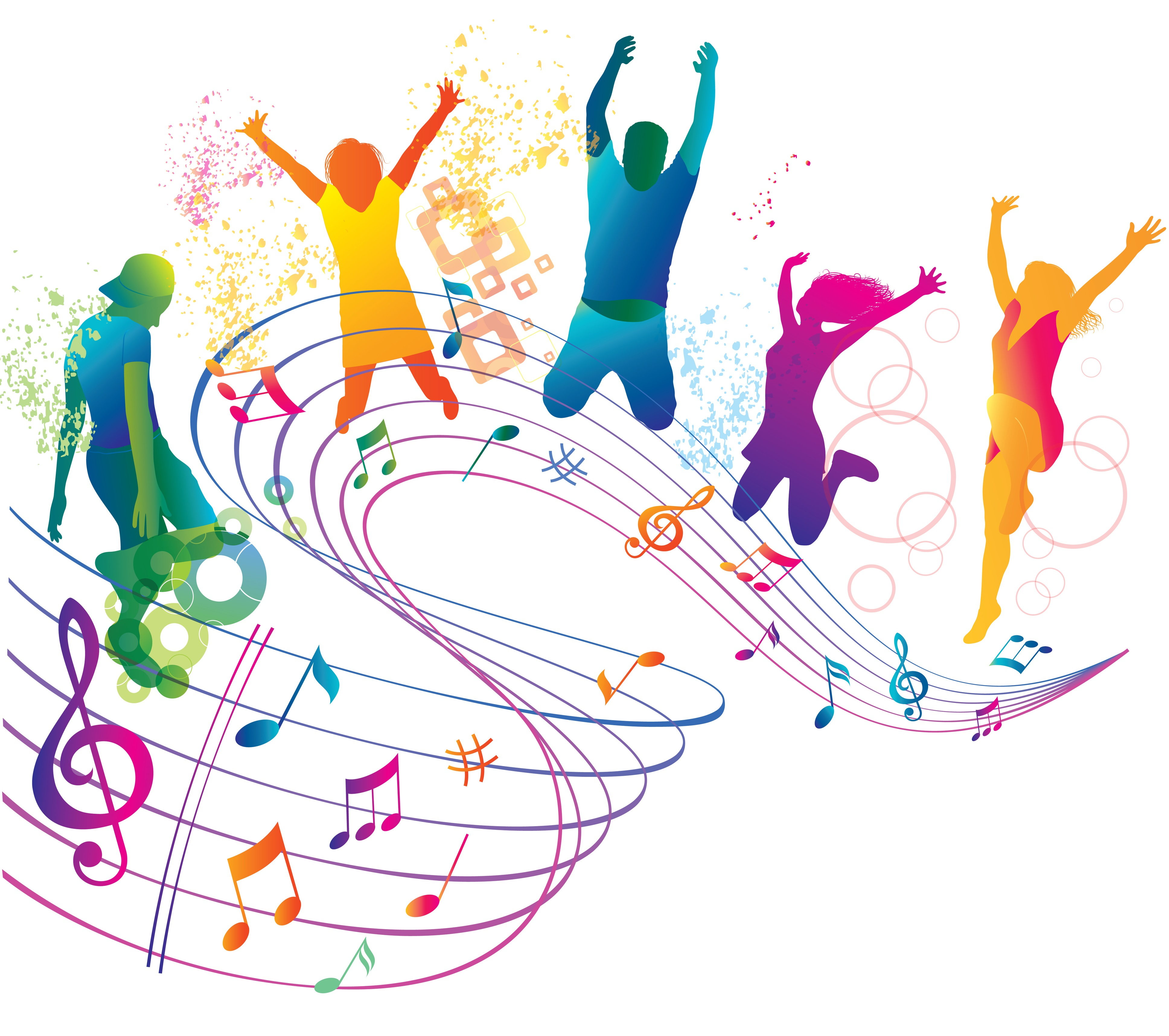 Musical notes background clipart panda free clipart images for 123 get on the dance floor song download