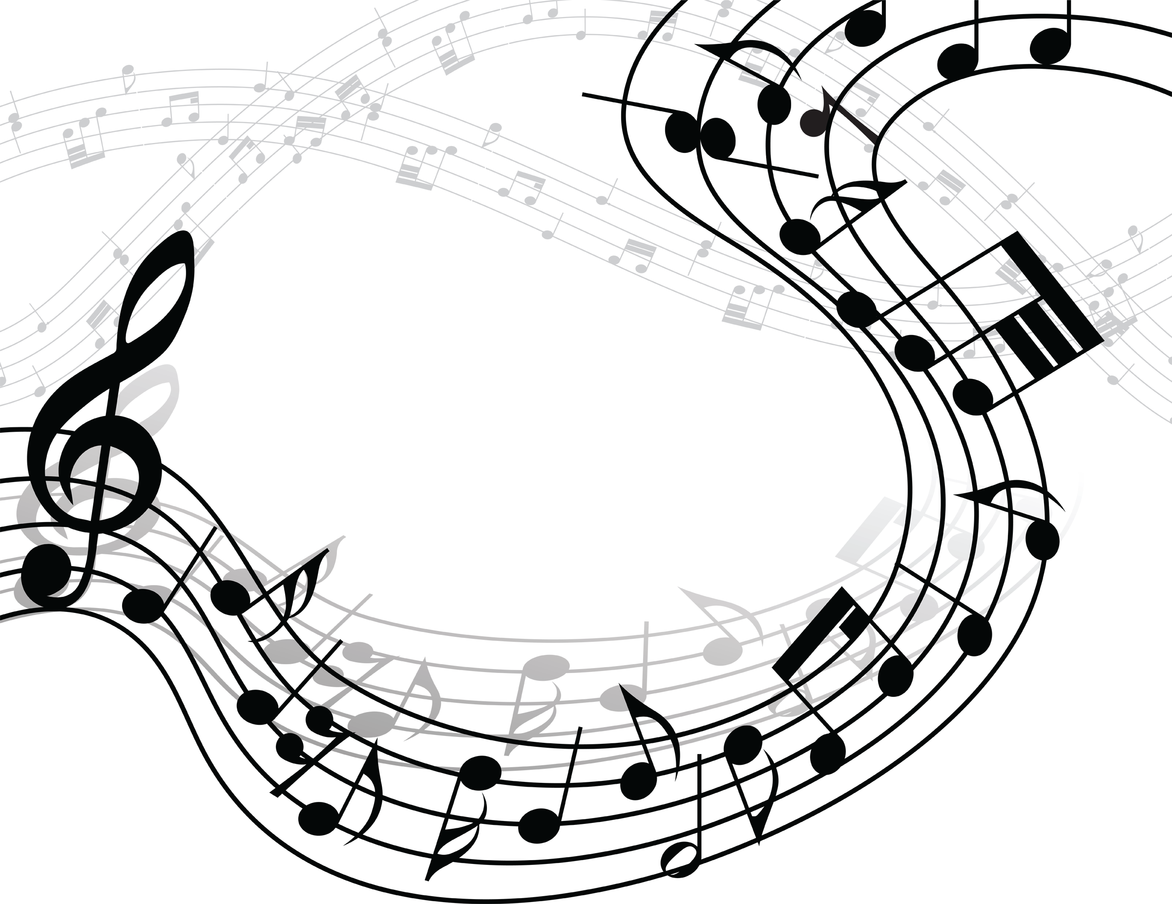 musical notes background clipart panda free clipart images