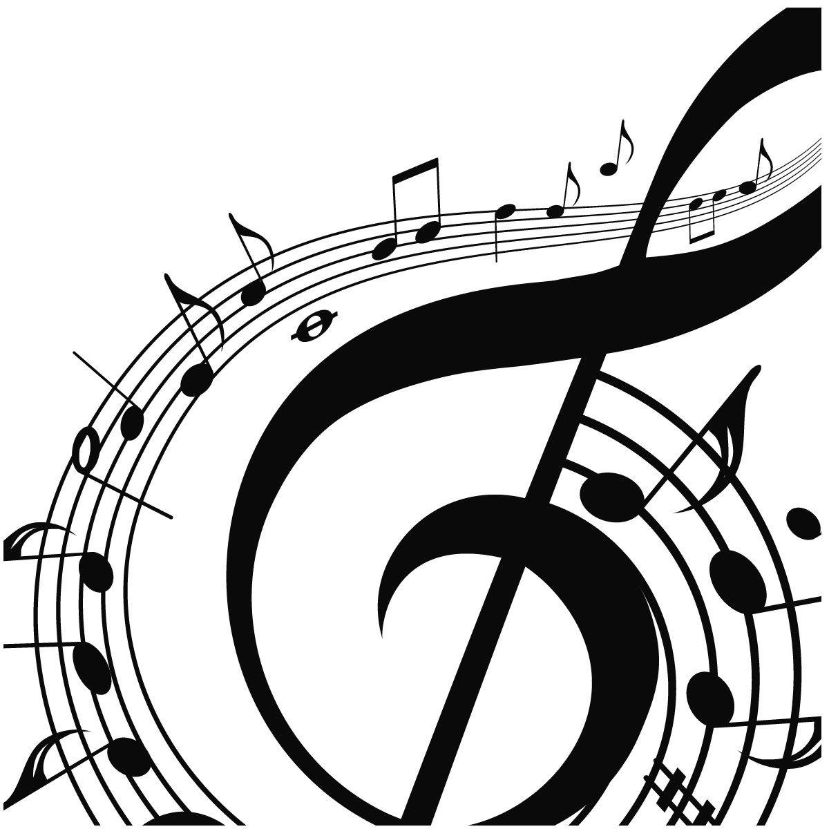 notes music musical clip single background clipartpanda cartoon clipart drawings clef terms arts