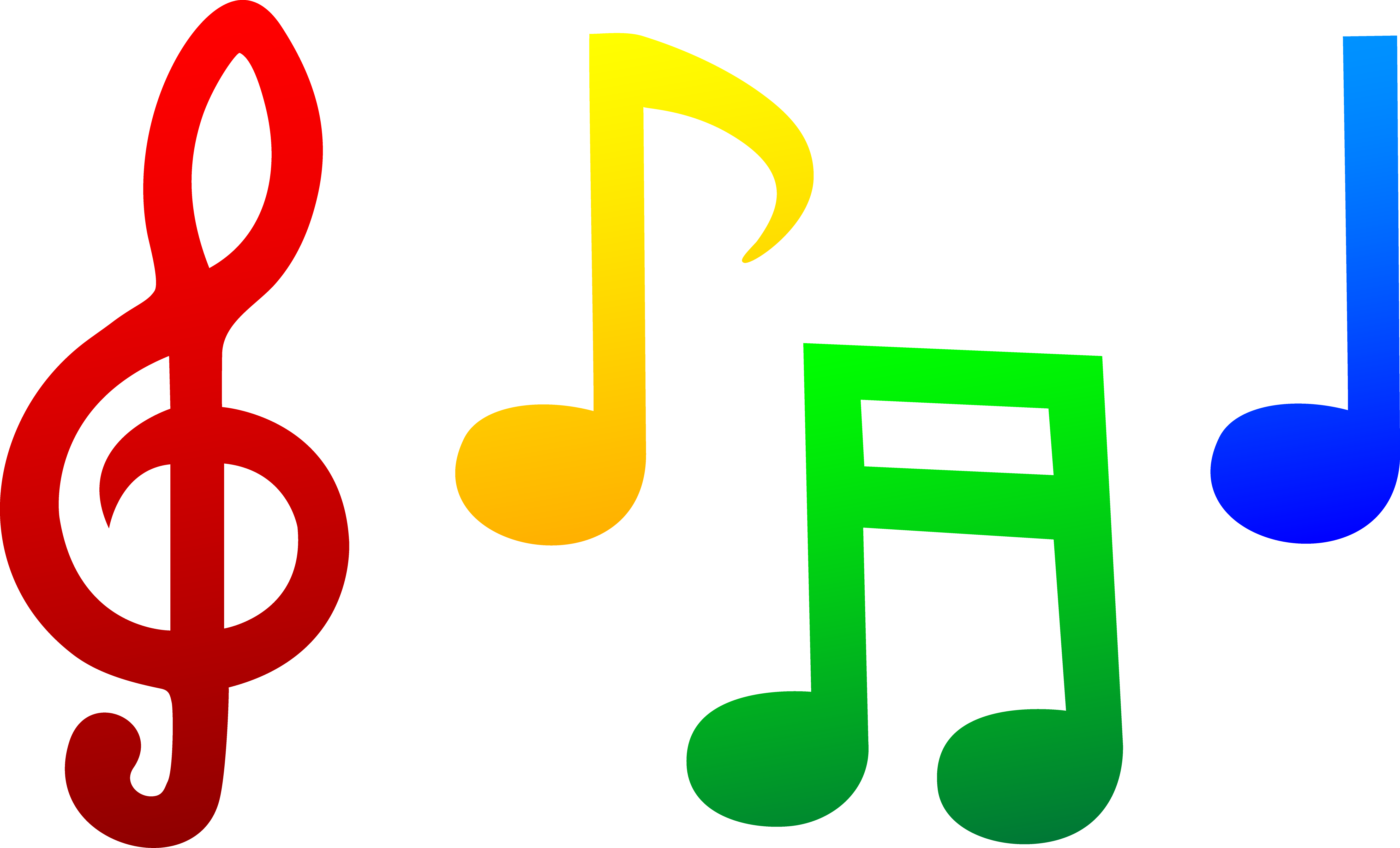 Free Music Pictures Clip Art Musical Notes Clip Art 34058