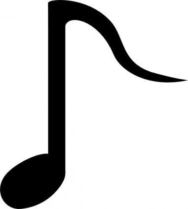 Musical Notes Symbols Vector Clipart Panda Free