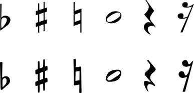 Single Music Notes Symbols   Clipart Panda - Free Clipart ...