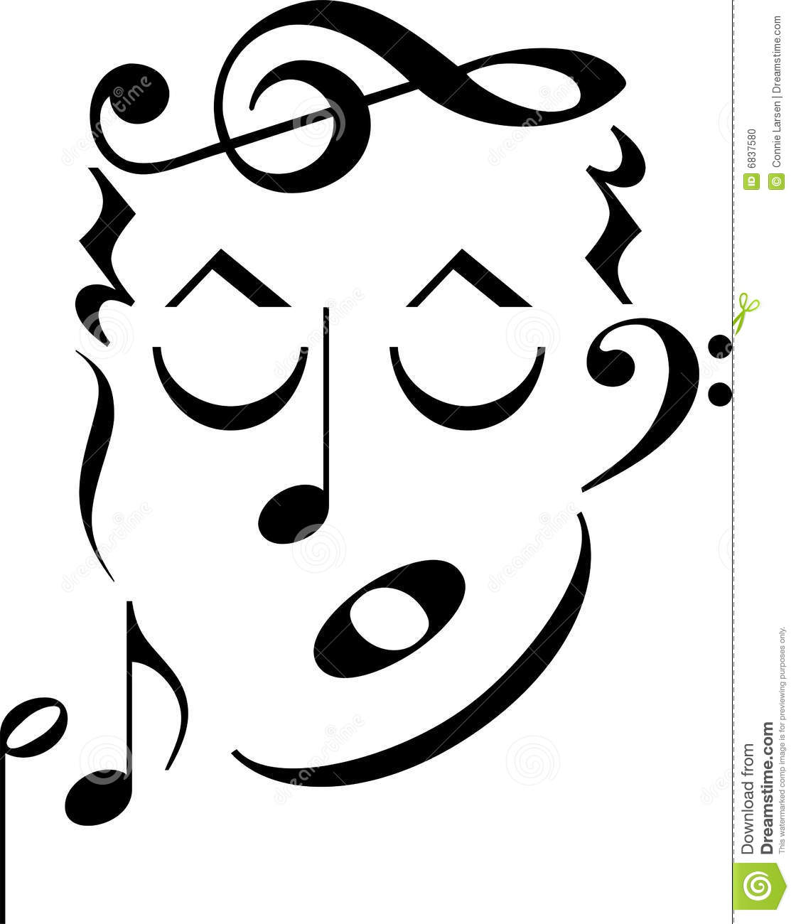Music Symbol Face Clipart Panda Free Clipart Images