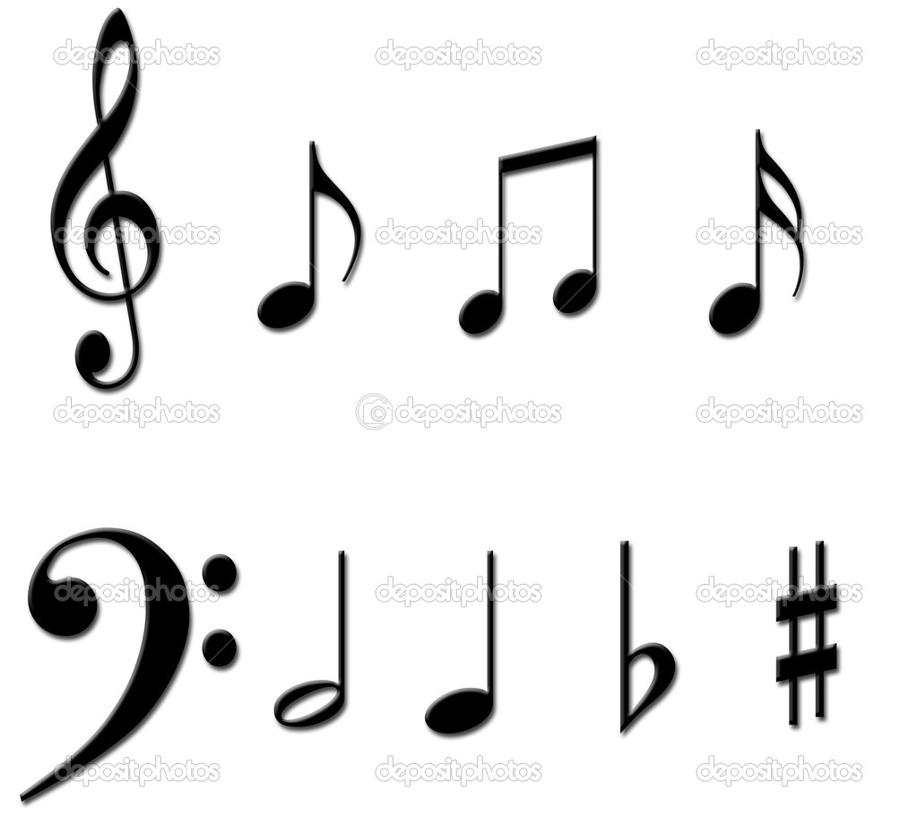 Music Notes Symbols Names Clipart Panda Free Clipart Images