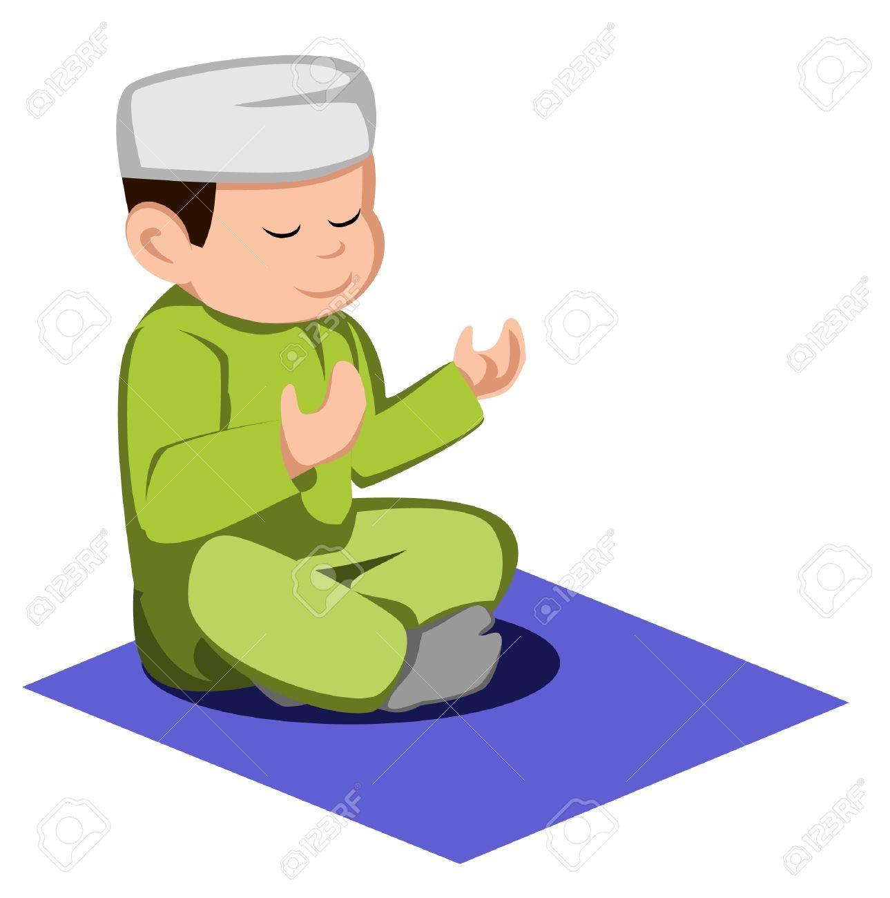 Muslim Prayer Times Clip Art Cliparts