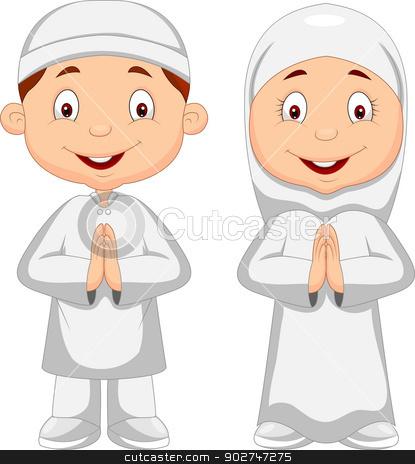 Muslim Kids Art Project
