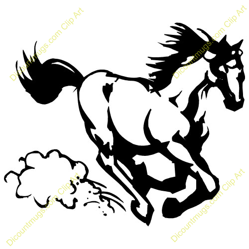 mustang20car20clipart mustang logo - Green Mustang Horse Logo