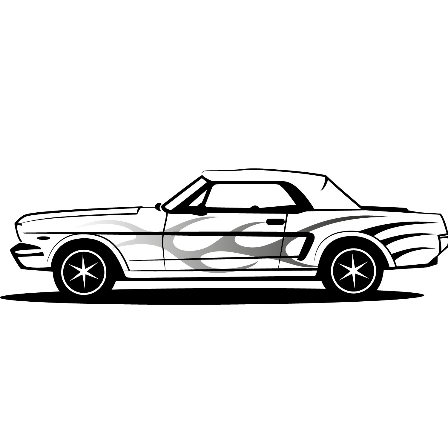 Black And White Ford: Clipart Panda - Free Clipart Images