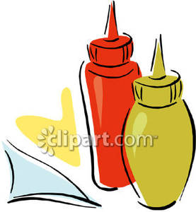 Bottles of Ketchup and Mustard | Clipart Panda - Free ...