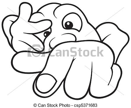 Nail Clipart Black And White