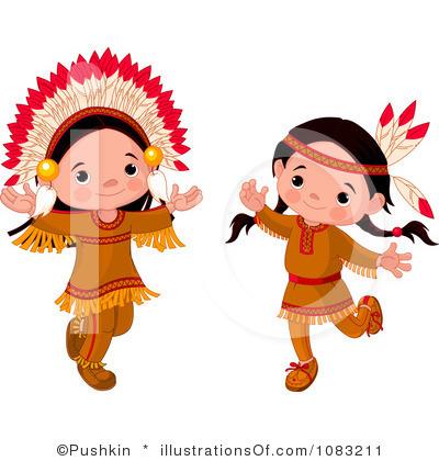 Native American Clip Art Silhouette | Clipart Panda - Free ...