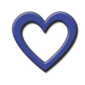 Navy Blue Heart Clipart   Clipart Panda - Free Clipart Images