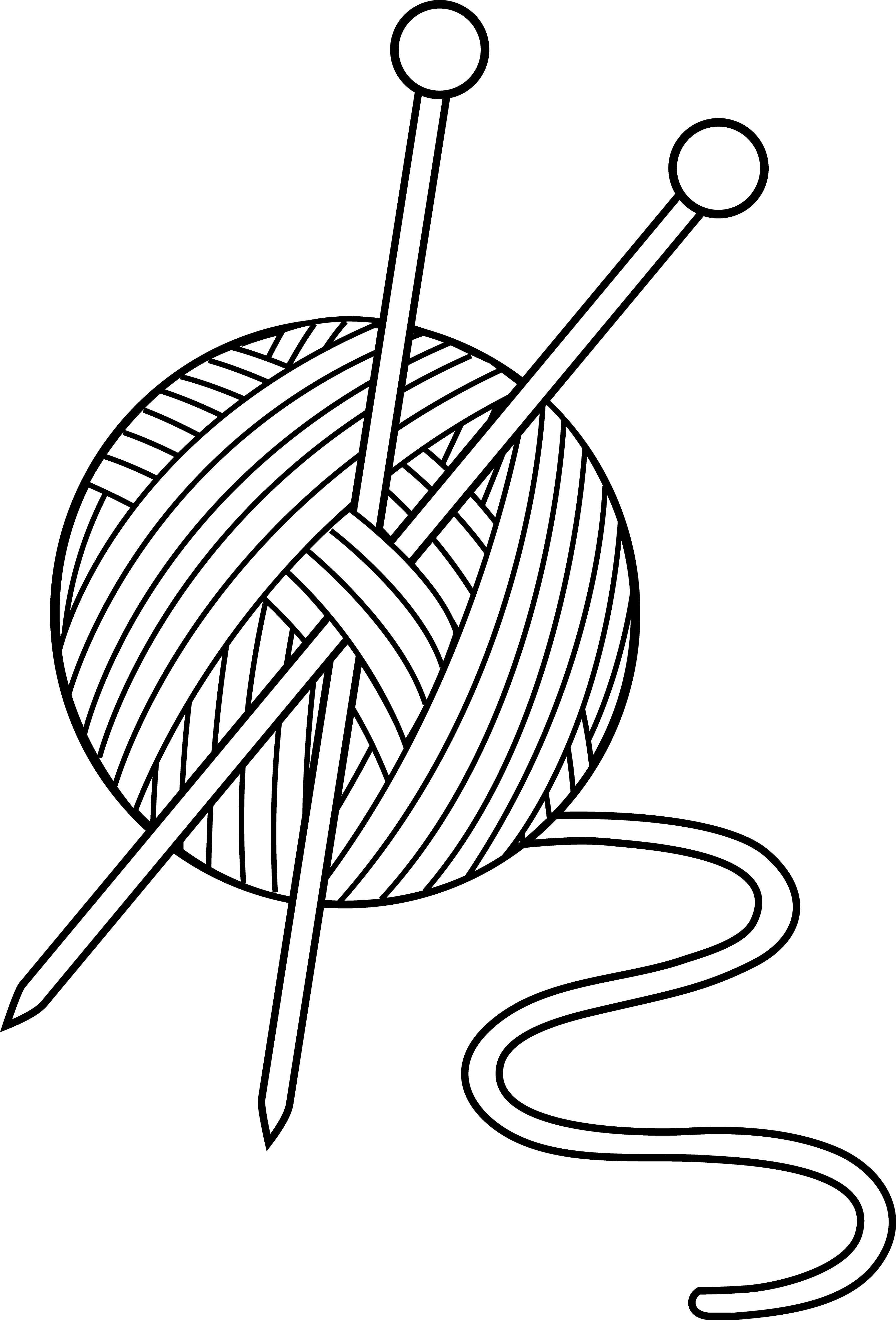 Knitting Clip Art Borders : Knit clipart panda free images