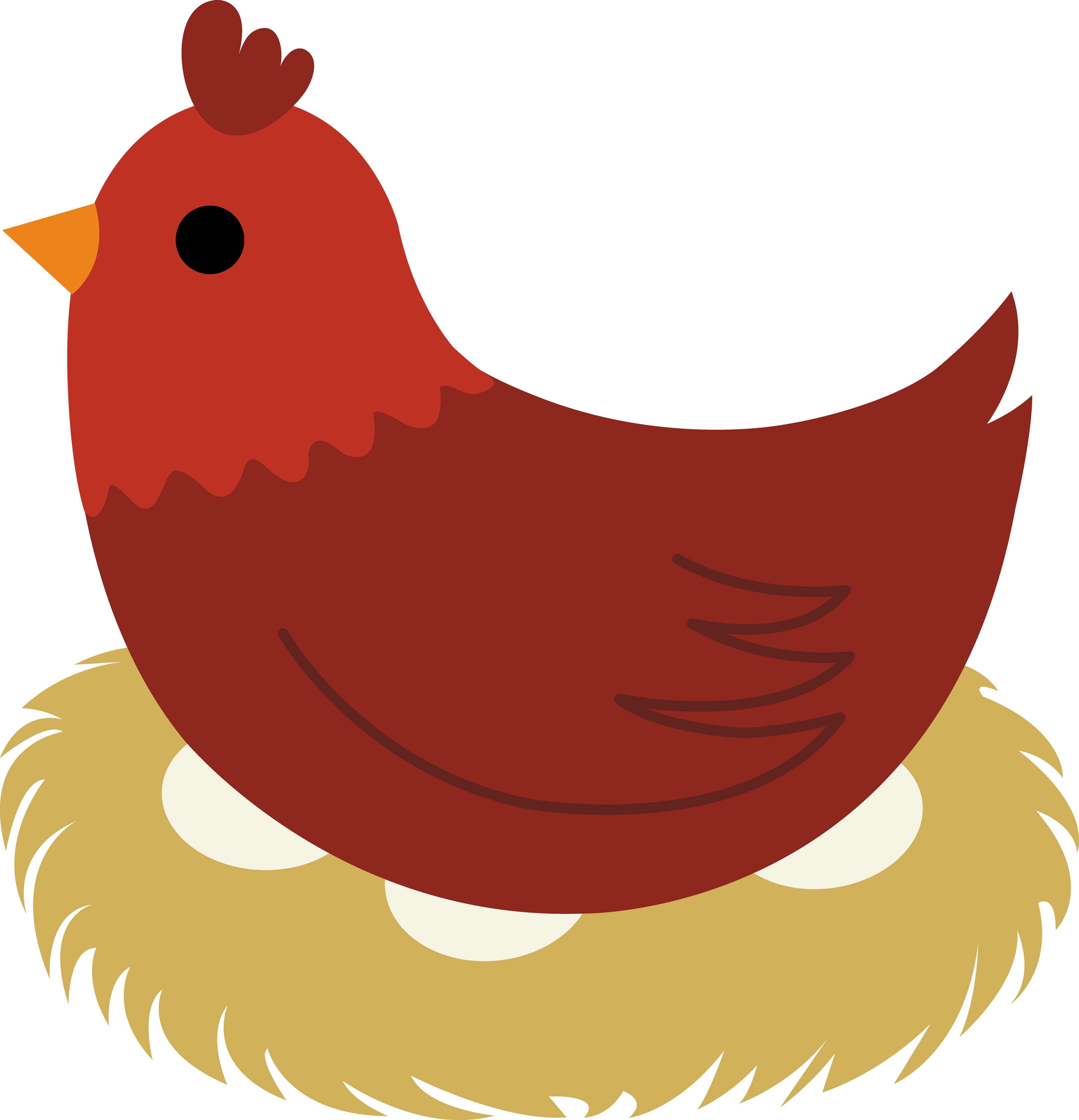 Cute Hen Clipart | Clipart Panda - Free Clipart Images
