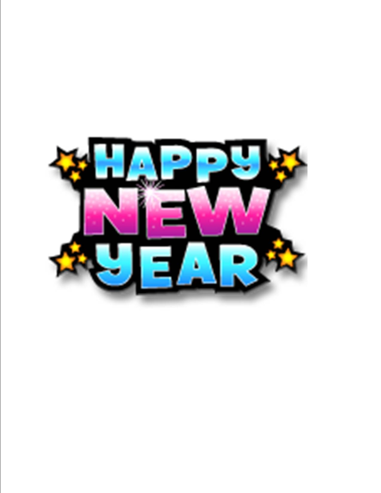 Religious New Years Clipart Free