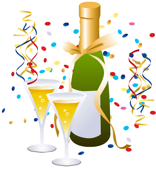 Free Clip Art Of New Year