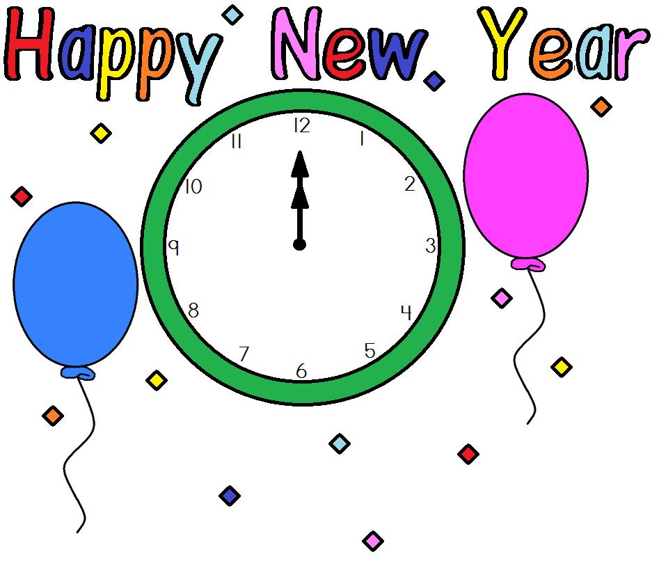 happy new year moving clip art - photo #5