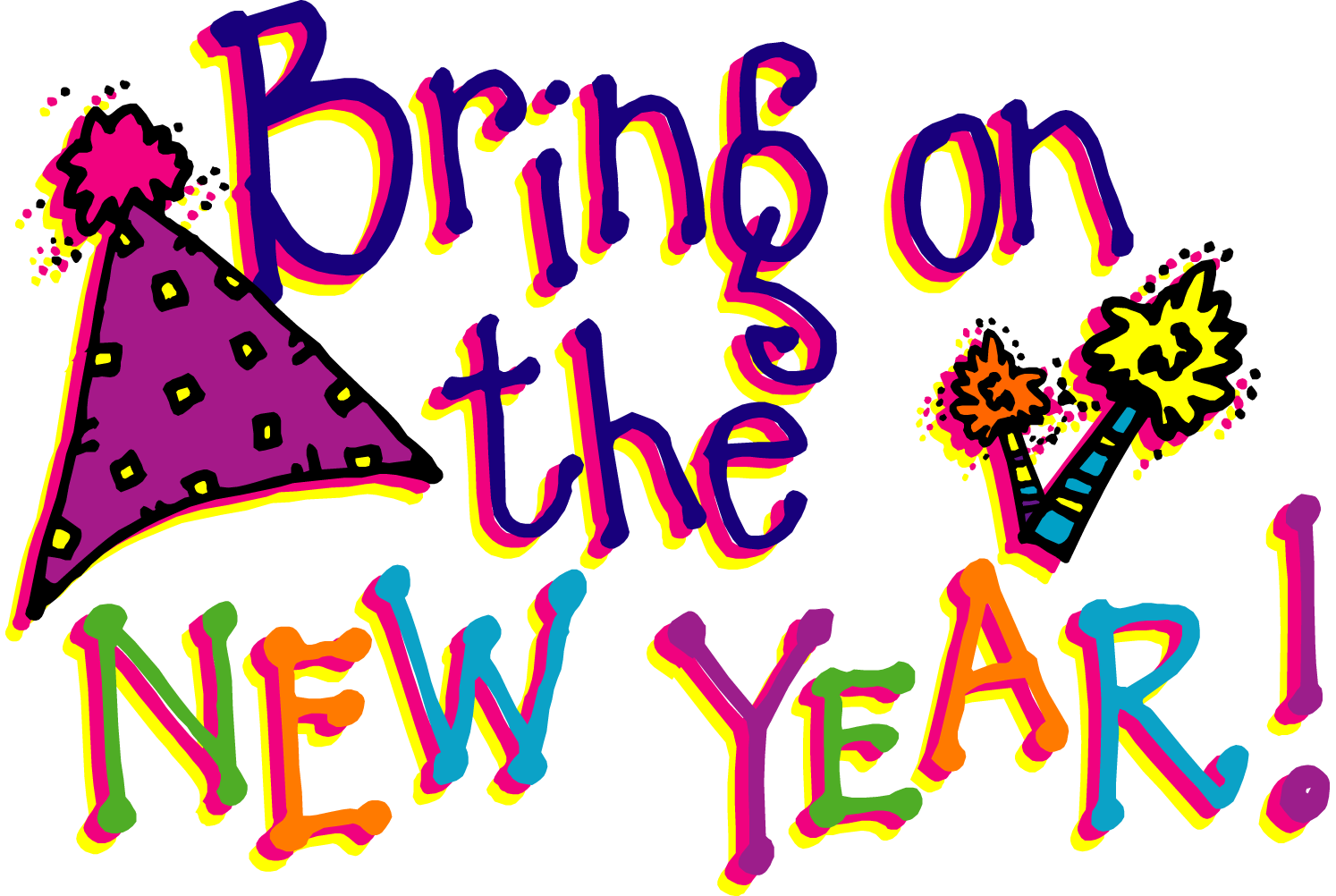 New Years Day Clipart | Clipart Panda - Free Clipart Images