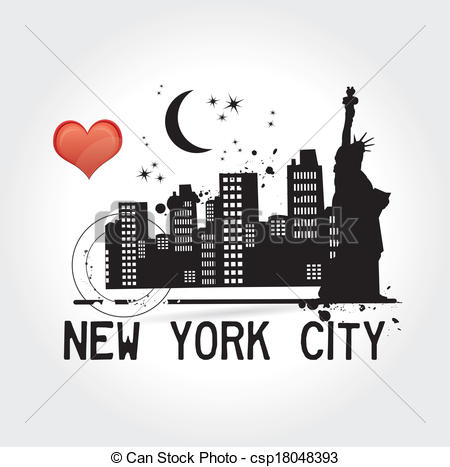 Clip Art New York City Clipart free clip art new york city bkmn black and white clipart panda 450 x 467