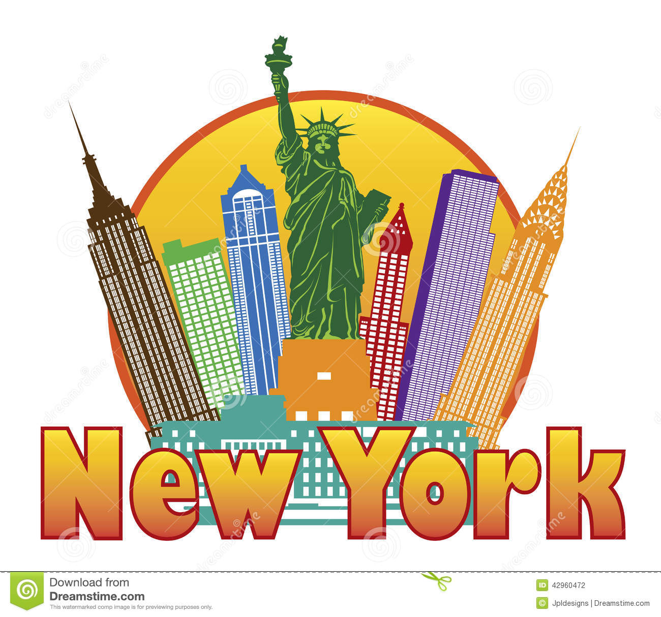 new york clip art free clipart panda free clipart images rh clipartpanda com new york yankees clipart new york clipart black and white