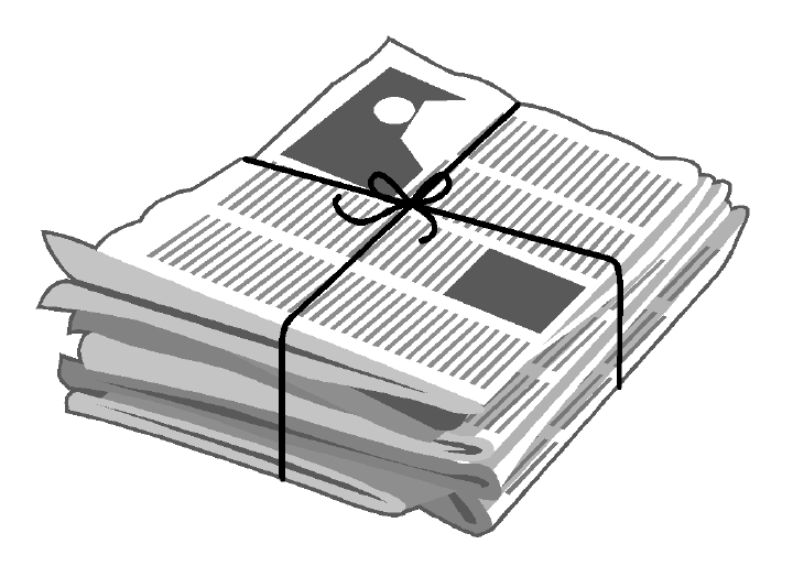 clipart for newspaper - photo #32