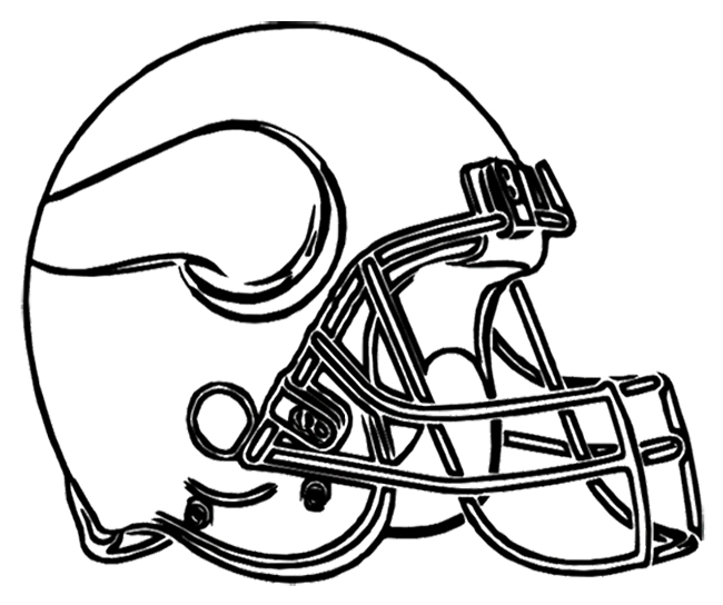 Nfl Vikings Coloring Pages Coloring Pages Nfl Coloring Pages Helmets