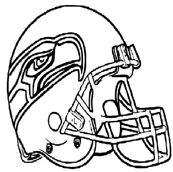 free nfl helmet coloring pages NFL Logo Coloring Pages  Coloring Pages Football Helmets Nfl