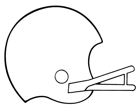 Nfl football helmets clipart panda free clipart images for Nfl helmets coloring pages