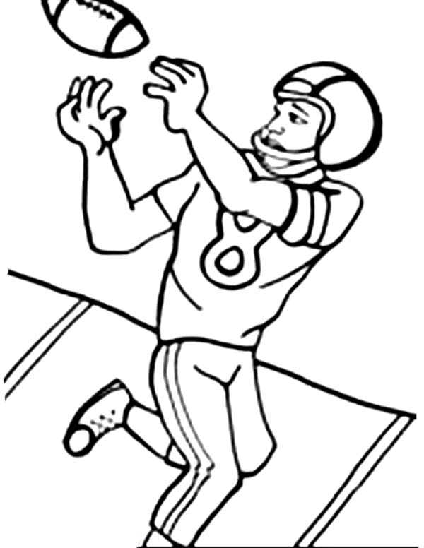 nfl football player coloring pages - photo#21
