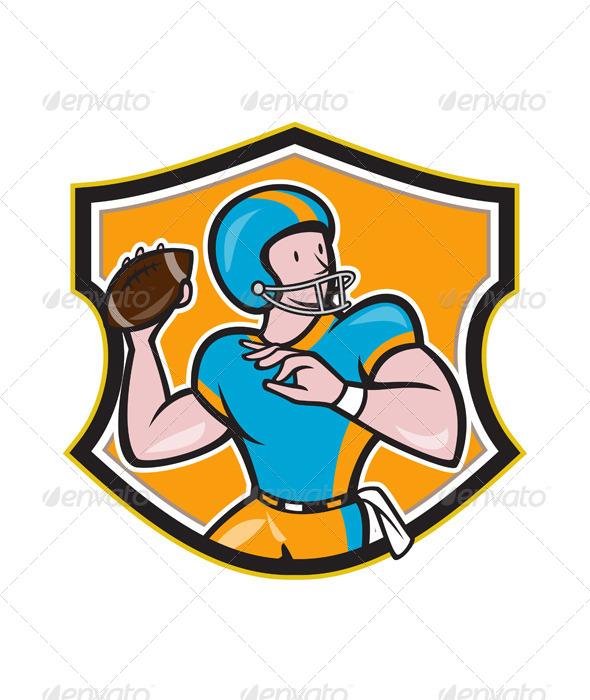 Quarterback Clipart Images Nfl Football Pl...