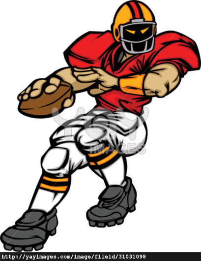 Nfl Football Player Throw | Clipart Panda - Free Clipart Images