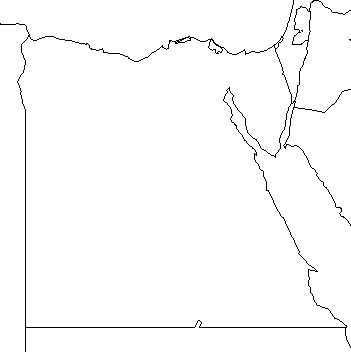 Nile River Map Clipart Panda Free Clipart Images - Unlabeled map of egypt