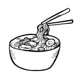 Pics For  Noodle Clip ...