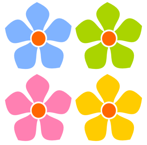 clipart/pretty-flowers | Clipart Panda - Free Clipart Images