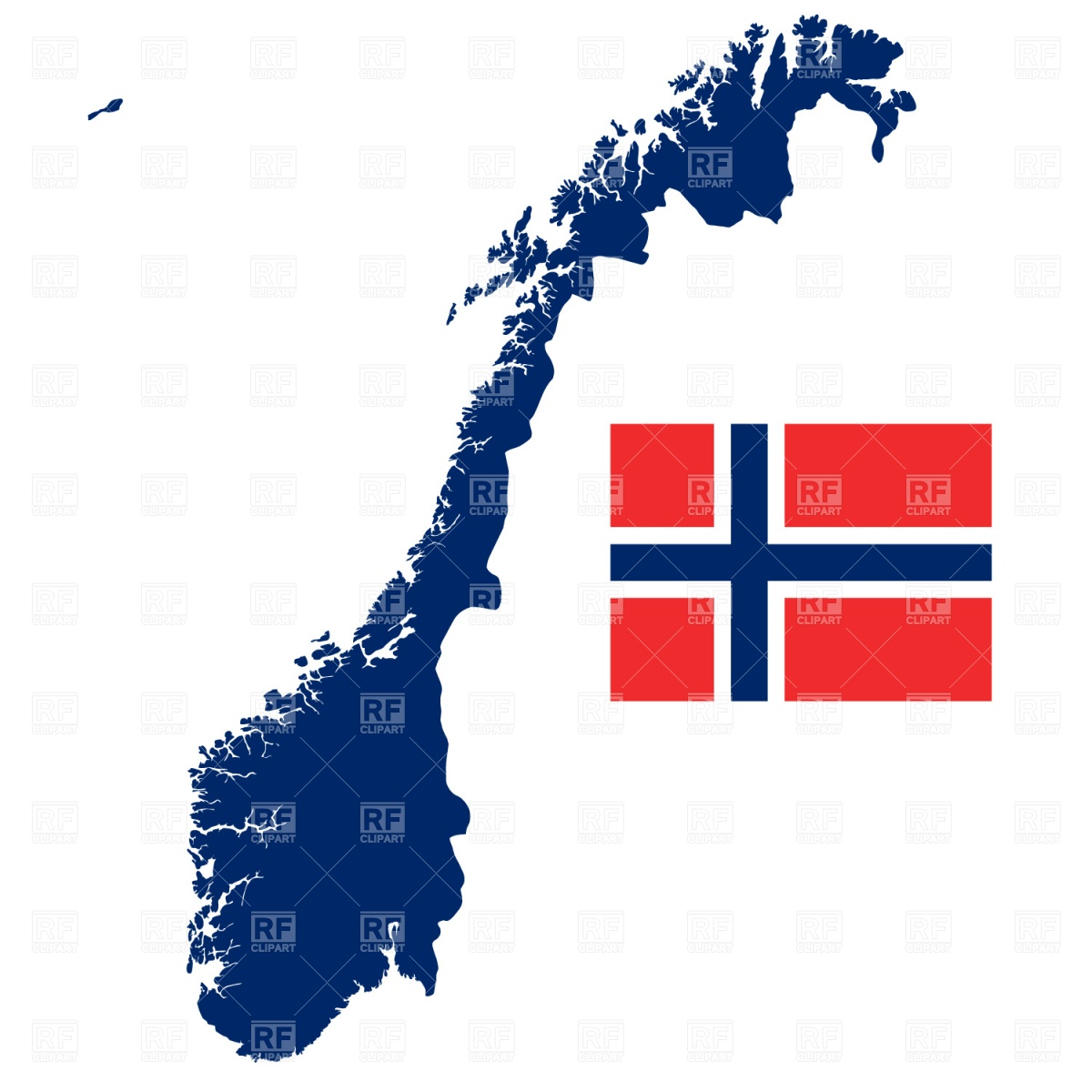 Norwegian Clipart Clipart Panda Free Clipart Images - Norway map clipart
