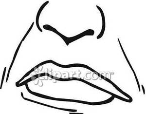 nose%20clipart%20black%20and%20white