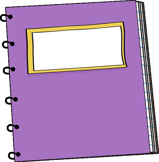 Notebook Clip Art