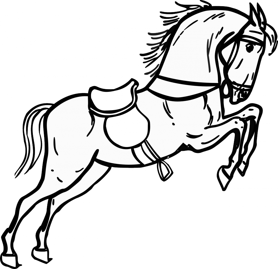 horse face coloring pages - photo#17