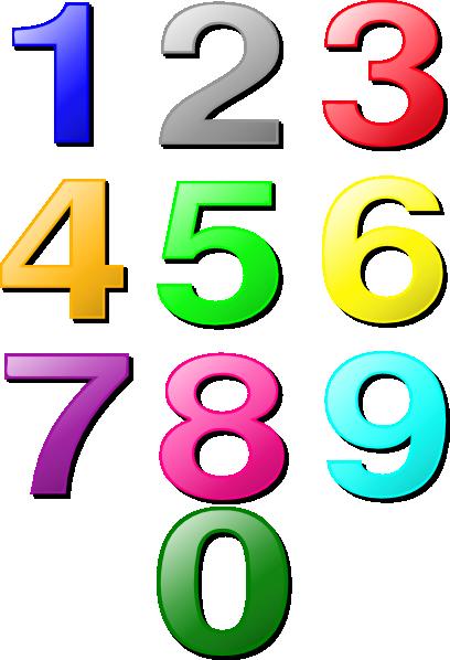 Number Clip Art