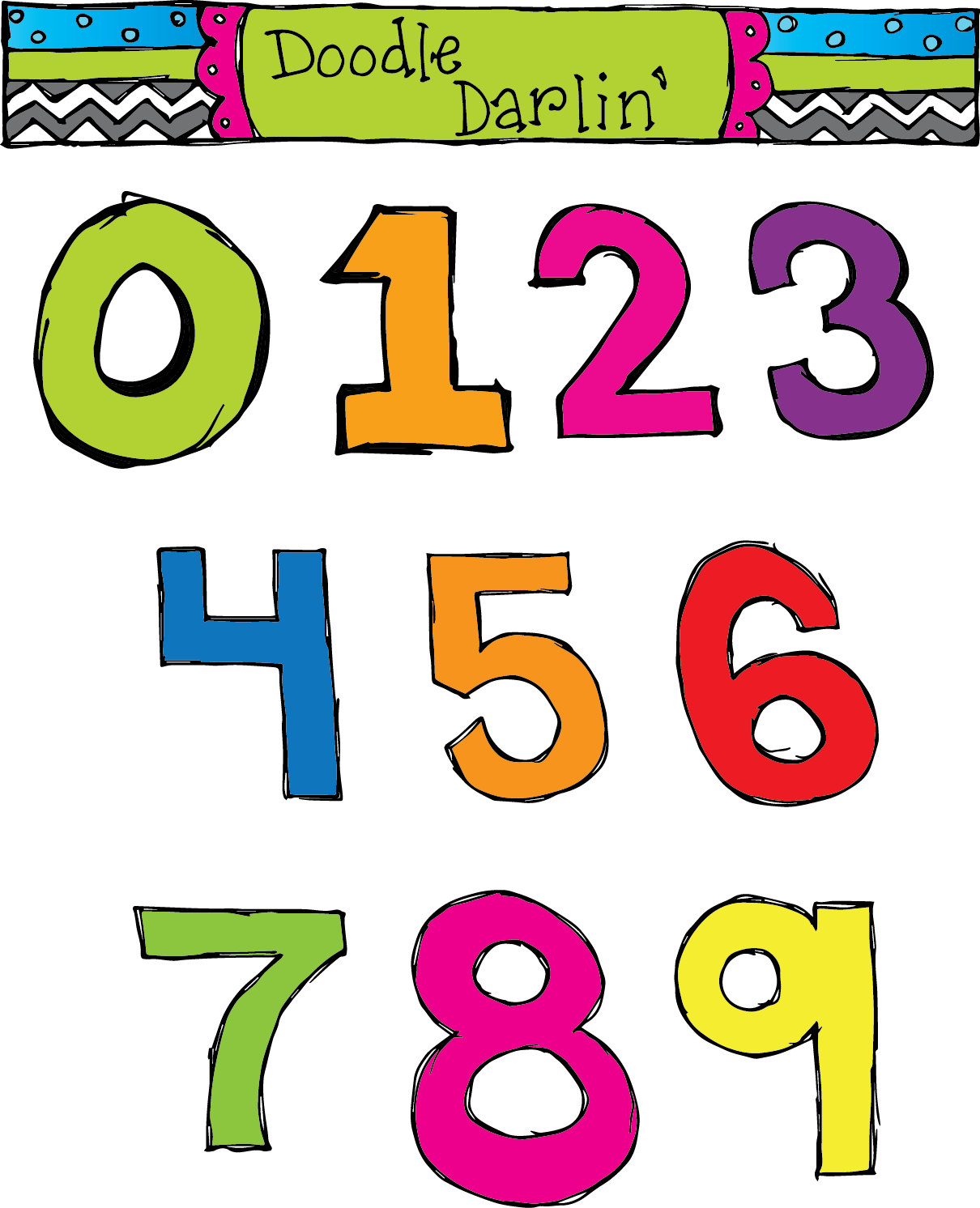 numbers clip art 7 clipart panda free clipart images rh clipartpanda com clip art of numbers around the house clip art of number 1