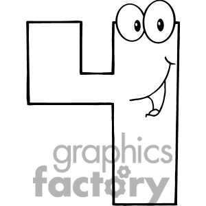 Number-Four-Cartoon-Mascot | Clipart Panda - Free Clipart ...