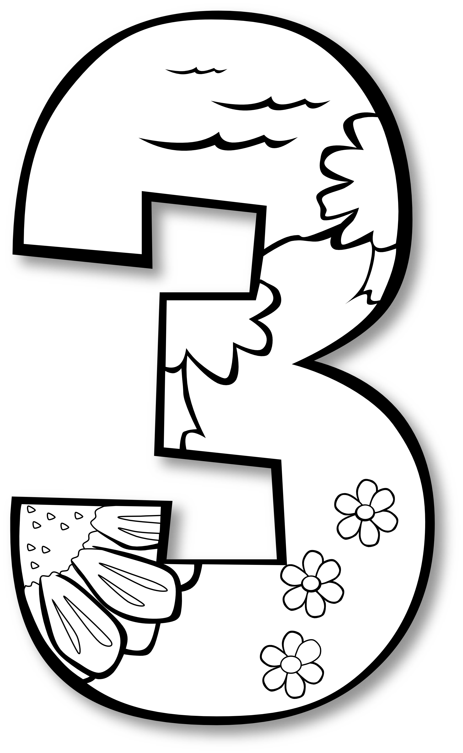 number one black and white clipart panda free clipart images