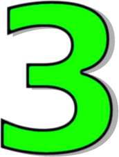 Number Three Clipart | Clipart Panda - Free Clipart Images