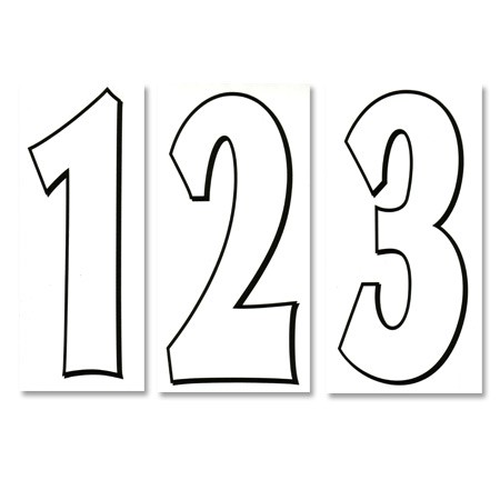 numbers black and white clipart panda free clipart images