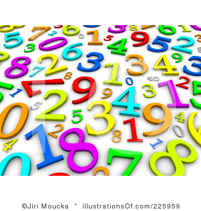 Numbers clipart for kids clipart panda free clipart images for Free clipart numbers