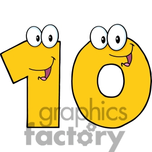 Numbers Clipart For Kids | Clipart Panda - Free Clipart Images