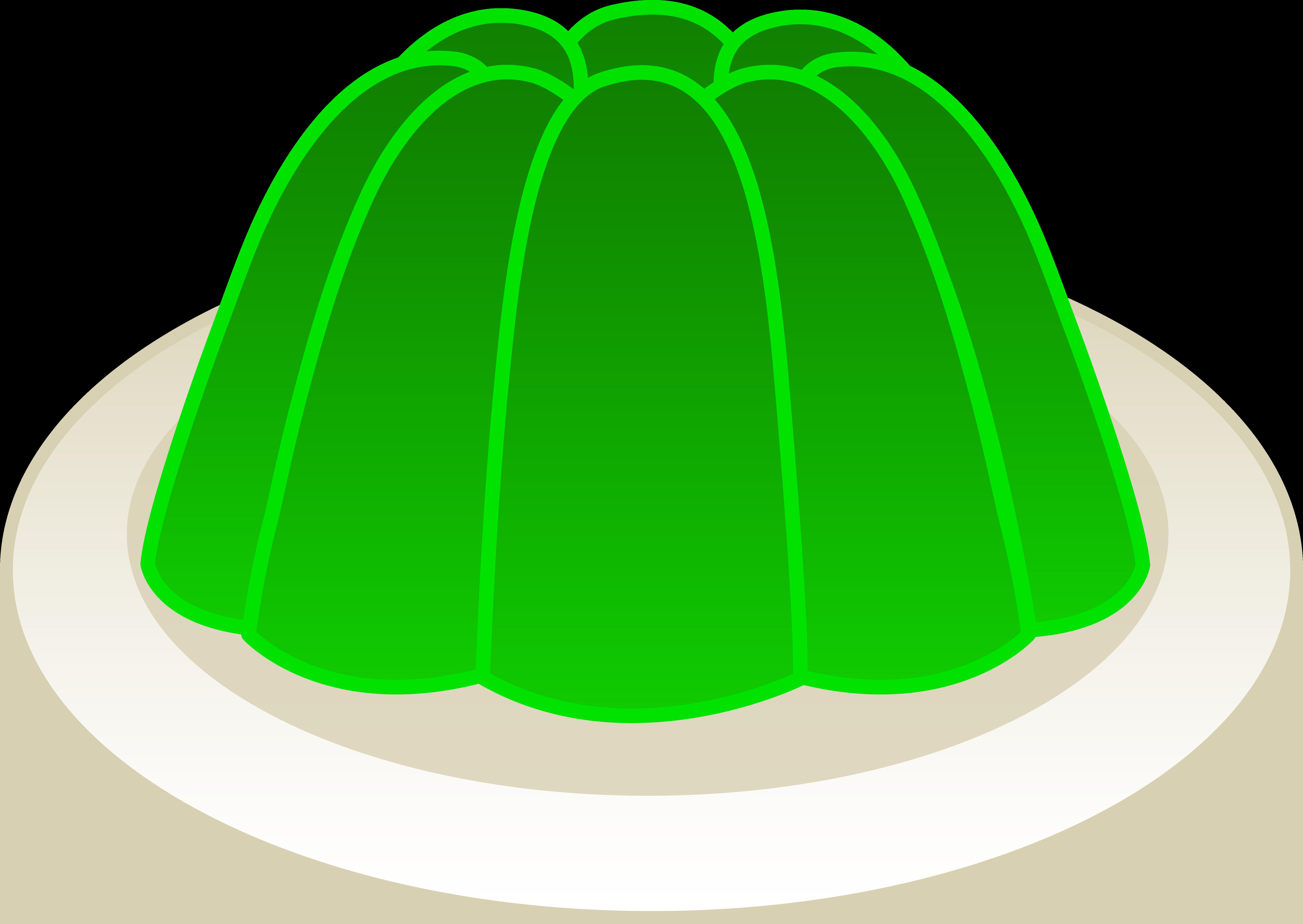 Green Cake Plate