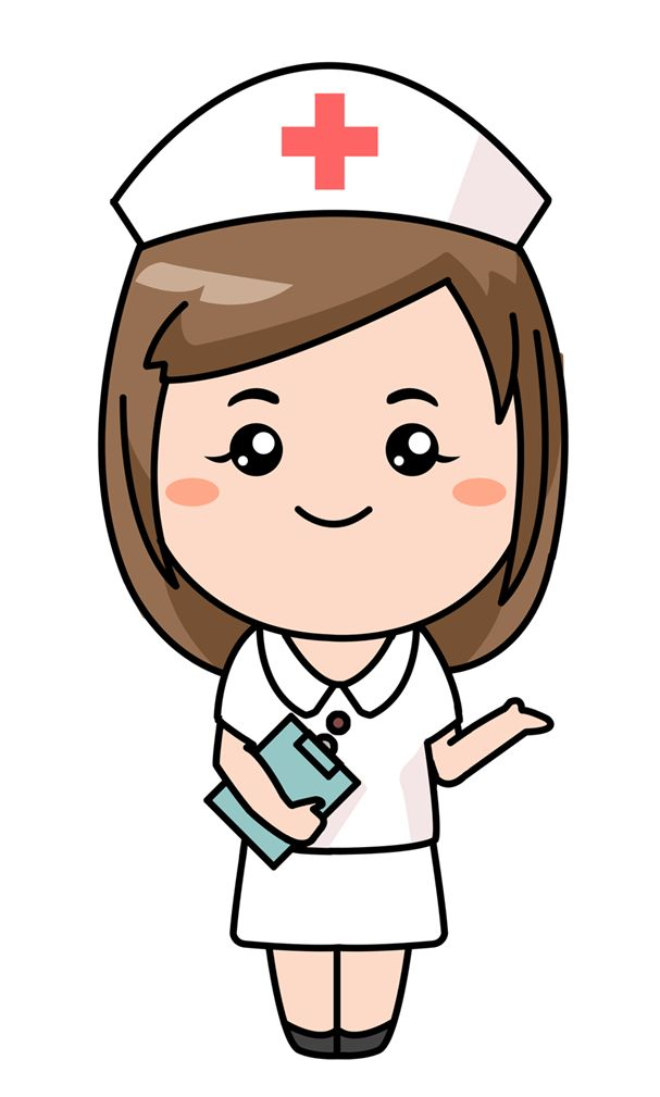 Cartoon Characters Jobs : Nurse clip art for word documents free clipart panda