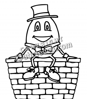 Clip Art Humpty Dumpty Clip Art clip art humpty dumpty bw clipart panda free images bw