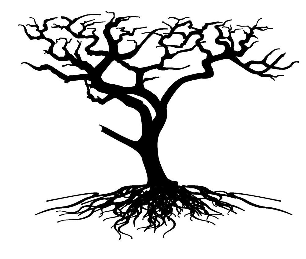 Tree Roots Silhouette | Clipart Panda - Free Clipart Images